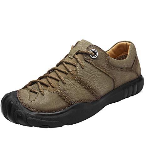 Giles Jones Men Hiking Shoes Low Top Lace Up Comfort Anti-Slip Trekking Climbing Shoes