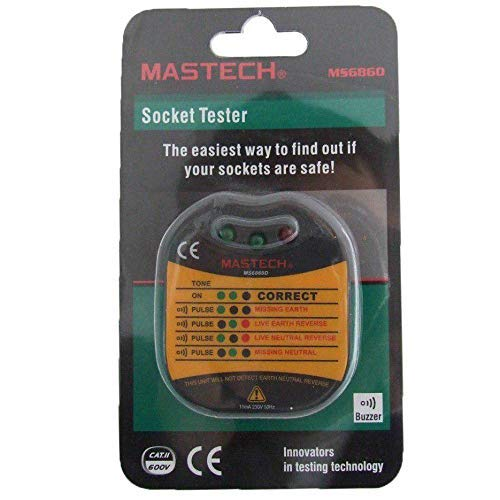 MS6860D Steckdosen Tester Mastech