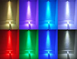 GBGS LED PAR Lights 54 RGBW LED Super Thin 8 Channel DMX512 Par Can Stage Lighting for Festival Party Disco Wedding DJ KTV