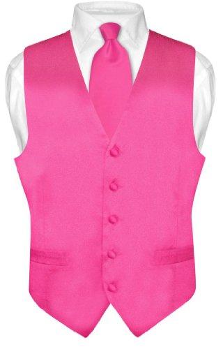 hot pink silk dress - 2
