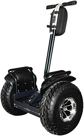 eco-glide Smart Self Balance Scooter Personal Transporter 19 inch All Terrain Tires Black