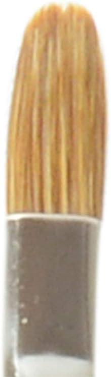 Filbert Light Ox Hair Sabeline with Maroon Handle da Vinci Oil /& Acrylic Series 1865 Paint Brush Size 0