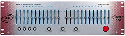 Galaxy Audio DS EQ215 Dual Channel 15 Band EQ Professional and Graphic Parametric Equalizer