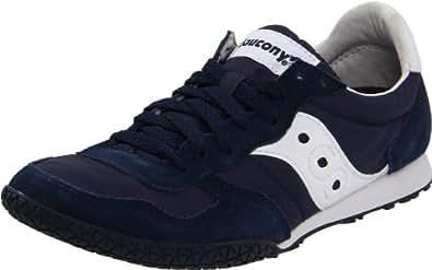 Saucony Originals Women's Bullet Classic Retro Sneaker, Navy/White, 10 M US