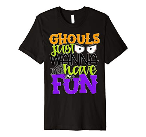 Cheap Halloween Parties Nyc 2019 (Ghouls Just Wanna Have Fun Cute Girls Kids Party Halloween Premium)