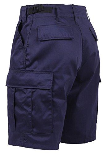 Rothco BDU Short P/C - Navy Blue, Medium