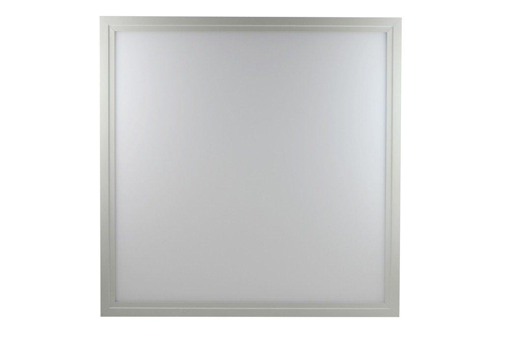 LED Panel Odenwalddecke Einbauleuchte 620x620mm Rasterleuchte 36W 5000K kalt weiß 4300 lm Rahmen weiß [Energieklasse A++] LEDfux