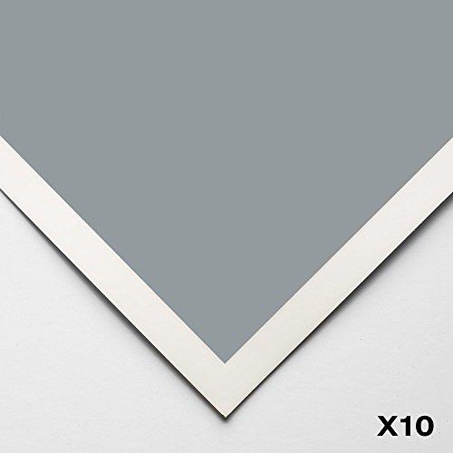 Art Spectrum : Colourfix Smooth : Pastel Paper : 50x70cm : Blue Haze : Pack of 10 by Art Spectrum