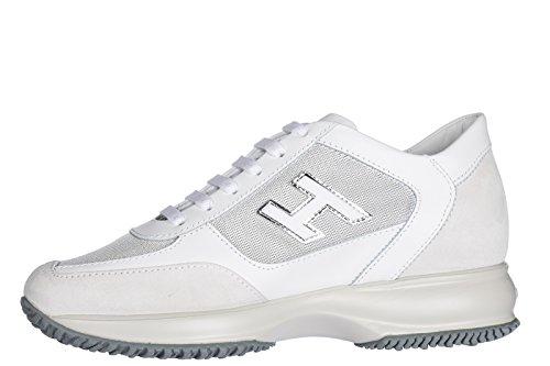Hogan Vrouwen Schoenen Sneakers Damesschoenen Van Leer Sneakers Wit