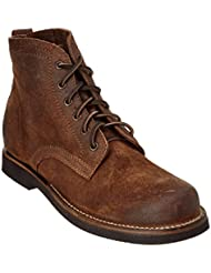 FRYE Mens Roland Lace-up Suede Boot - 87157-Tan