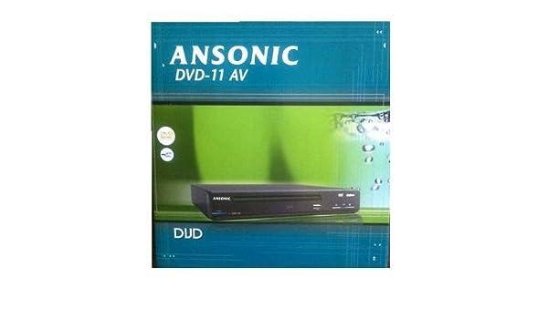 Ansonic DVD-11AV - Reproductor de DVD: Amazon.es: Electrónica