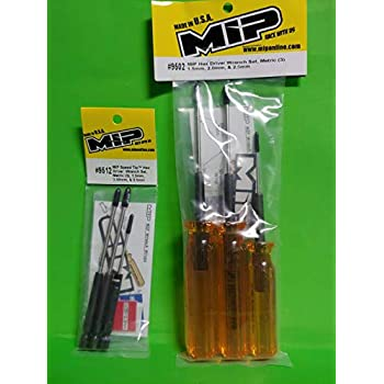 MIP Metric Speed Tip Set 2.5mm MIP9512 3 2.0mm Hex Driver Wrench 1.5mm