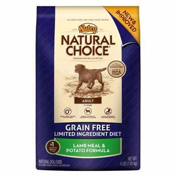 Natural Choice Dog Grain Free Lamb Meal and Potato Formula Adult Dog Food, 4-Pound, My Pet Supplies