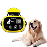 Depps Wireless Dog Fence System with Rechargeable Transmitter and Rechargeable Collar Receiver - Safe & Easy Install WiFi Radio Electric Dog Fence