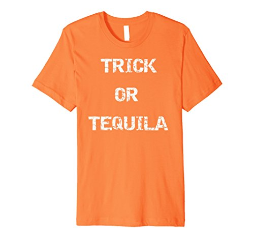 Mens Premium Trick or Tequila Halloween Costume T-Shirt 3XL (Margarita Man Costume)