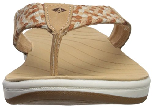 5 Medium Sperry Flat Swell 8 Sandal Us Women's Tan Seabrook ncUWUpqA0w