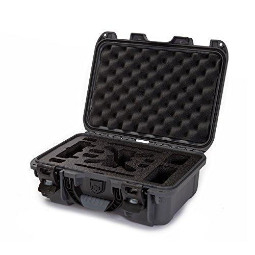 Nanuk 915 Waterproof Hard Drone Case with Custom Foam Insert for DJI Spark Flymore - Graphite