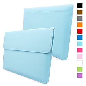 Macbook Pro 15 Case, Snugg™ - Leather Sleeve with Lifetime Guarantee (Blue) for Apple Macbook Pro 15
