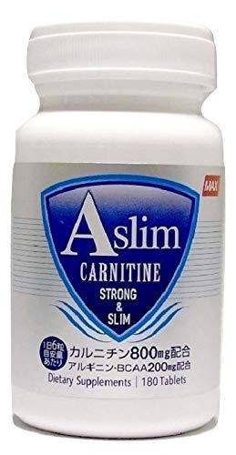 카르니틴 Aslim 24000mg BCAA 아르기닌 6000mg 180정