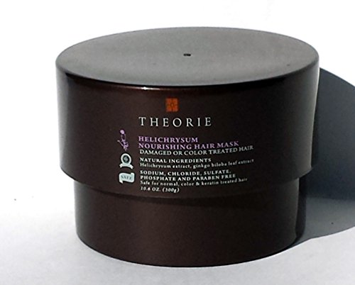 Theorie Helichrysum Nourishing Hair Mask Damaged or Color Treated Hair 10.6 oz