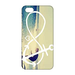 Fortune Aesthetic infinite 3D Phone Case for iPhone 5s