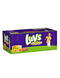 Luvs With Ultra Leakguards Big Pack Size 5 Diapers 80 Count BOBEBE Online Baby Store From New York to Miami and Los Angeles