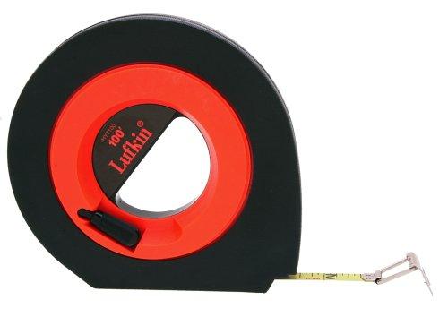 Lufkin HYT100 3/8-Inch x 100 Hi-Viz« Orange Speedwinder« Steel Tape ()