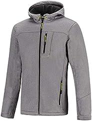 SNOTEK Softshell Jacket for Men, Water Resistant, Wind Resistant Jacket with Hood
