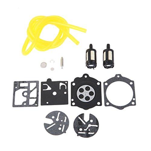 Carburetor Repair Diaphragm Kit for Homelite XL 2 & Super 2 Fit Walbro HDC Carb