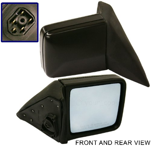 MERCEDES BENZ E-CLASS 86-95 SIDE MIRROR, RIGHT PASSENGER SIDE, POWER HEATED ()