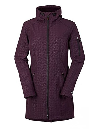 Kerrits Tailor Made Trench Purple Rein Size: Extra Small