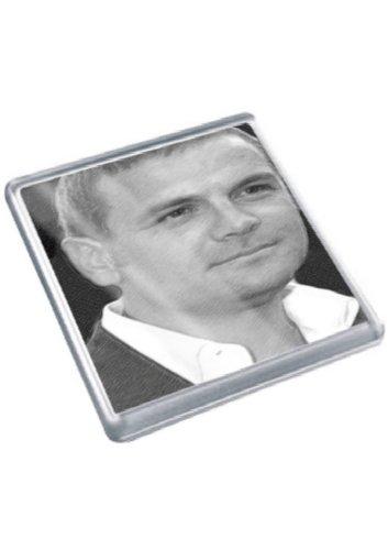 DAVID CUBITT - Original Art Coaster #js001