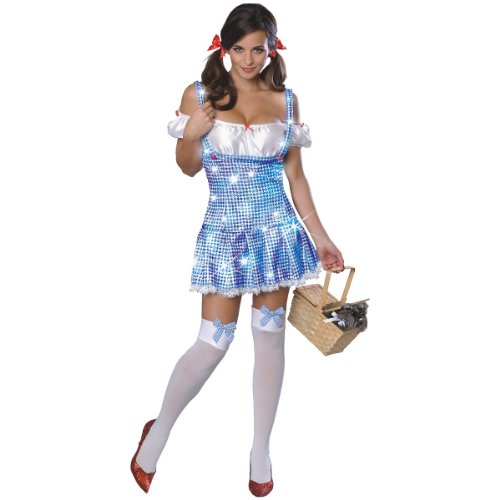 Dorothy Costume - X-Small - Dress Size (Adult Plus Size Kansas Girl Costume)
