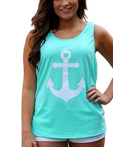 TeeDoc Womens Sleeveless Bowknot T Shirt product image