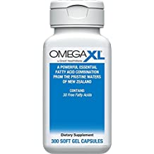 Omega XL ® 300ct All Natural Powerful Omega-3 Joint Health Supplement Formulated with a Patented Complex of 30 Healthy Fatty Acids, Including DHA and EPA to Help Relieve Joint Pain due to Inflammation - Omega XL