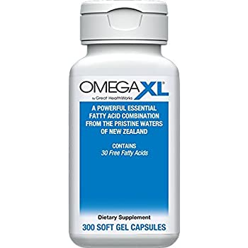 OmegaXL® 300 Count - Omega-3 Free Fatty Acids, Ultra Effective NATURAL Pain Relief Supplement helps support JOINT PAIN & INFLAMMATION - No fishy aftertaste ...
