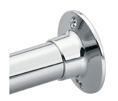 Moen 63-F Donner Shower Rod Flange Set, Chrome