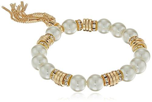 t-tahari-gold-white-pearl-tassel-stretch-bracelet