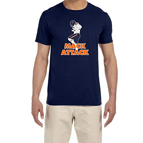 Attack Youth T-shirt - Tobin Clothing Navy Chicago Mack Attack T-Shirt Youth Medium