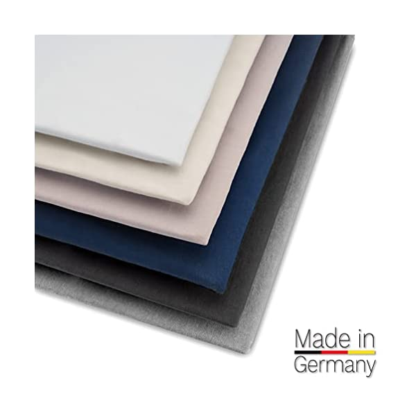 Beeke® Premium Spannbettlaken Wohnmobil [3 teilig] - Multi-Stretch Bettlaken für Wohnwagen-Heckbett [Made in Germany…