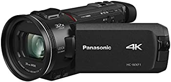 Panasonic HC-WXF1 4K UHD WiFi Camcorder with Twin & Multicamera Capture