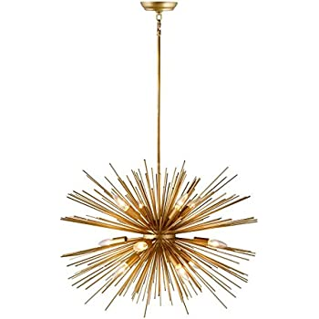 Arteriors 89669 Zanadoo 12l Iron Chandelier Amazon Com