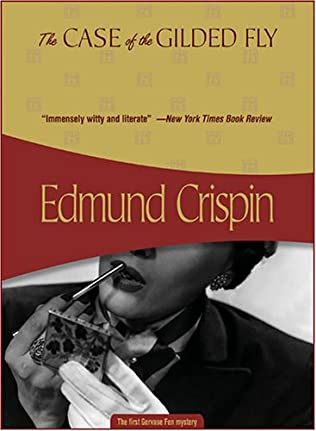 book cover of The Case of the Gilded Fly