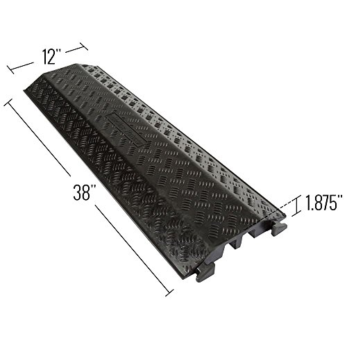 Rage Powersports DH-CR-5 2 Channel Cord Protector Cover Guard Cable Snake by Guardian Industrial Products (Image #2)