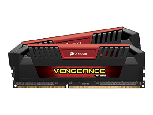 Corsair Vengeance Pro Series 16GB DDR3L DRAM 1600MHz C9 Memory Kit for DDR3L Systems 1.35V by Corsair