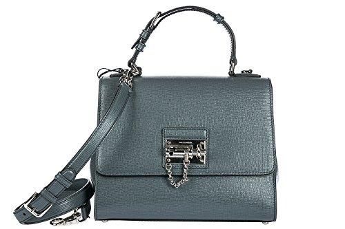 Dolce Gabbana cuir gris femme main en sac amp; à rOHfSqra