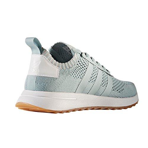 reputable site 779b0 ee1e6 Para Running Flb Zapatillas Adidas Flashback Green Mujer Verdes Primeknit  Blancas Y Tactile Deportivas xwnZ1RSz