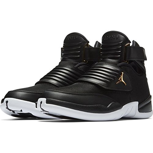the latest aa74c 3b358 NIKE Mens Jordan Generation 23, Black Black-White-Metallic Gold, 11.5