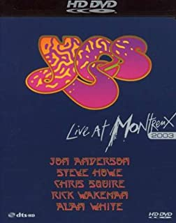 Yes: Live at Montreux 2003 [HD DVD] (B000QCS2U2) | Amazon Products