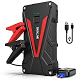 BUTURE Car Jump Starter - 800A Peak 12800mAh Portable Car Battery Starter (up to 6.0L Gas 5.0L Diesel Engines) Auto Battery Booster Pack with Smart Safety Jumper Cable - QC3.0 USB Outputs